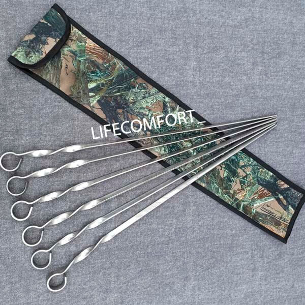 Шампура 3-12 мм плоский