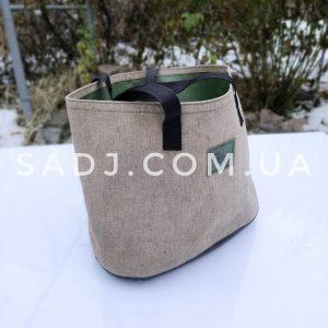 Чехол-сумка для казана 8-12л из прорезиненного брезента